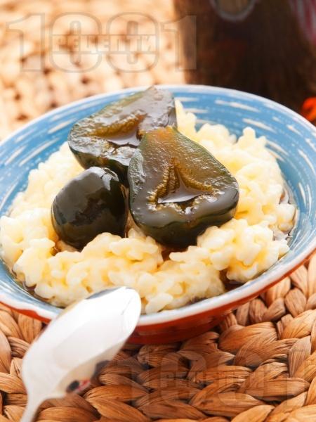 Мляко с ориз и смокини - снимка на рецептата